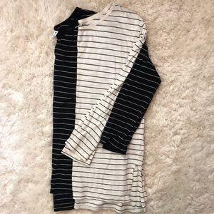 BP. Side slit long sleeve bundle